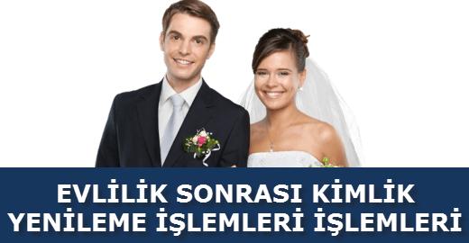 evlilik yeni kimlik