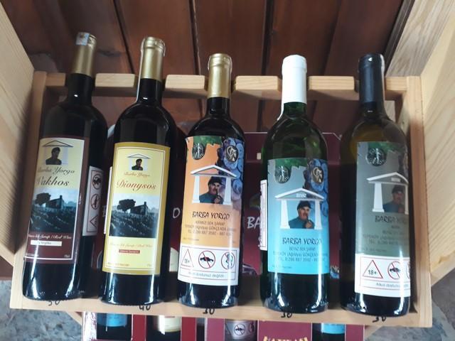 barba yorgo şarapları