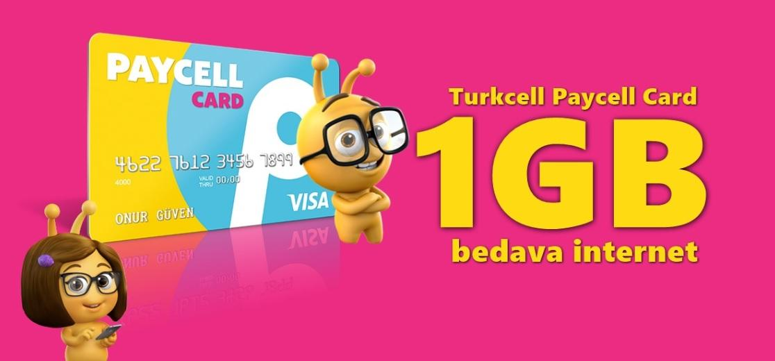 paycell turkcell bedava internet